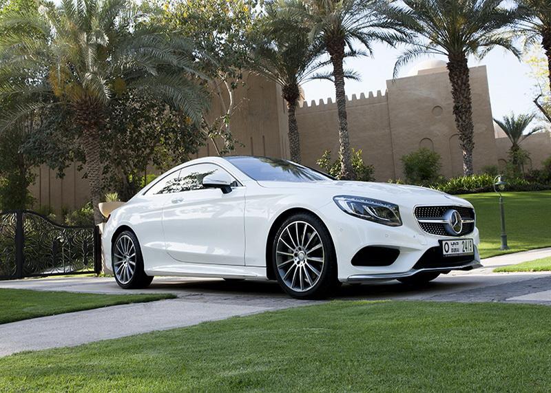 Mercedes S500 - White