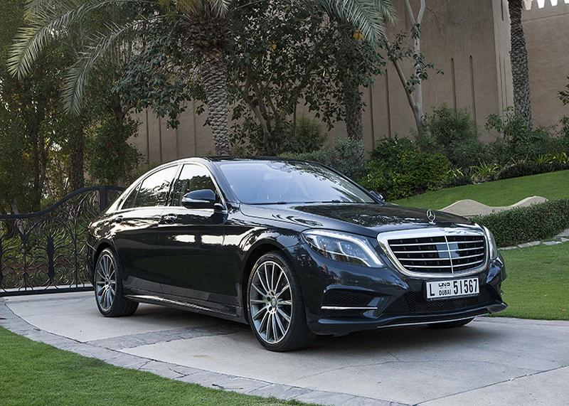 S 500 Mercedes Black