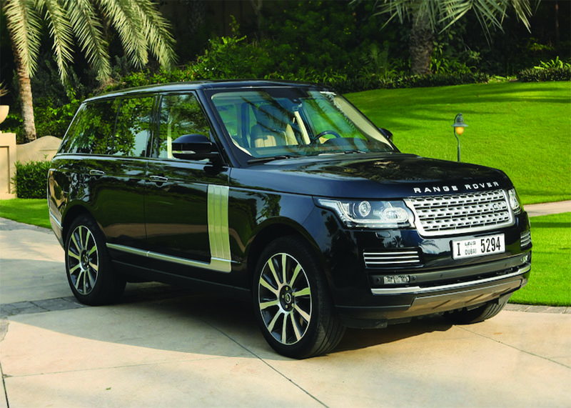 Range Rover Vogue Sup
