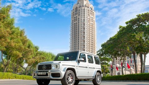 What are the highlights of renting Mercedes Benz G63 AMG?